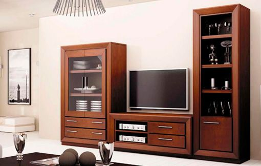 Mueble de estilo clásico para salón | Ideas para el hogar ...
