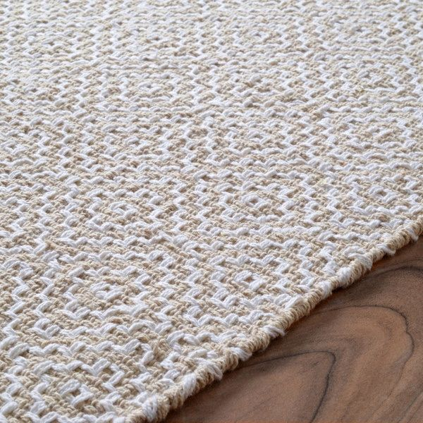 Nuloom Handmade Flatweave Diamond Cotton Rug 6 X