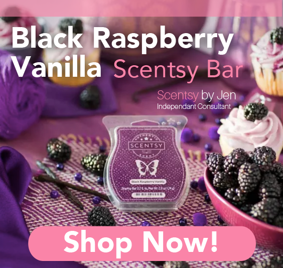 Black Raspberry Vanilla Scentsy Bar  Delicious, sun-sweetened dark berries warmed with vanilla.  Made of high-quality paraffin wax for long-lasting fragrance, Scentsy Bars are composed of eight break-apart cubes designed to use with any Scentsy Warmer. As the cubes melt, they fill your space with our exclusive scents, inspiring imagination and memories. Safe to use — no wick, flame, smoke or soot. Made in Idaho, USA. Net wt 2.6 oz. #Scentsy #Smellgood #home #homedecore #Motivatedmompreneur #love