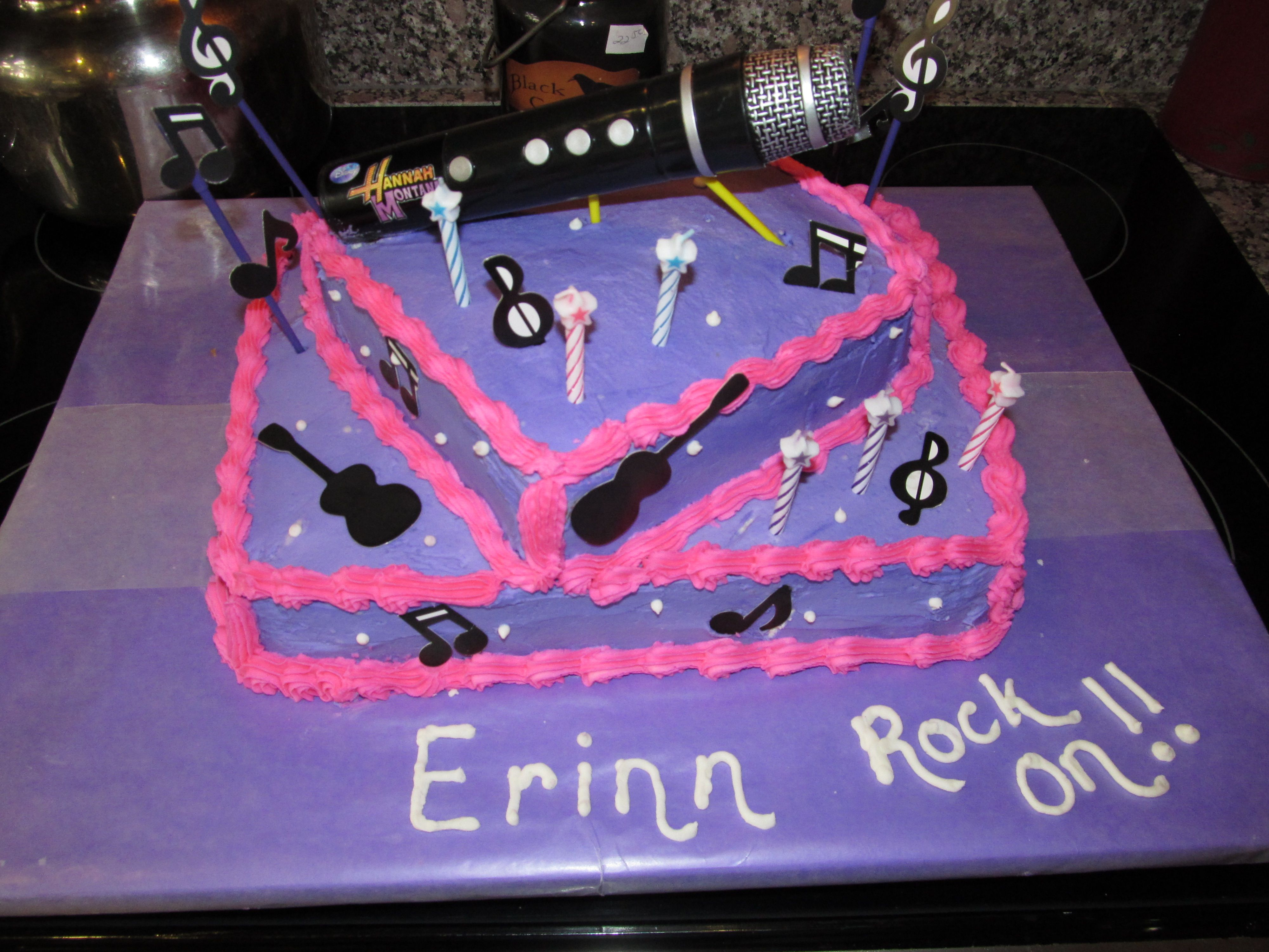 Free Birthday Ideas For Her ~ A friend asked me to decorate her daughter s th birthday cake