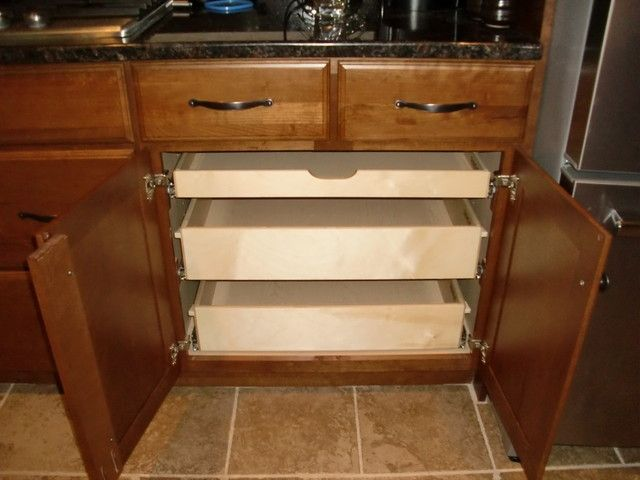 Kitchen Cabinet Organizers Pull Out Drawers, Pull Out Drawers For ...