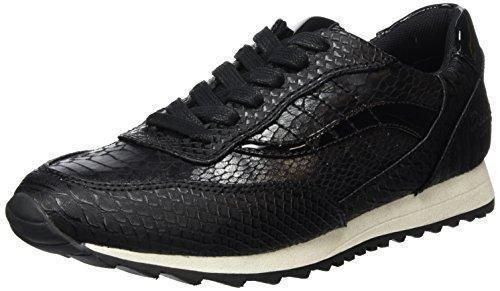 Dockers by Gerli 36ht001-204, Zapatos de Cordones Oxford para Hombre, Negro (Schwarz/Grau), 43 EU