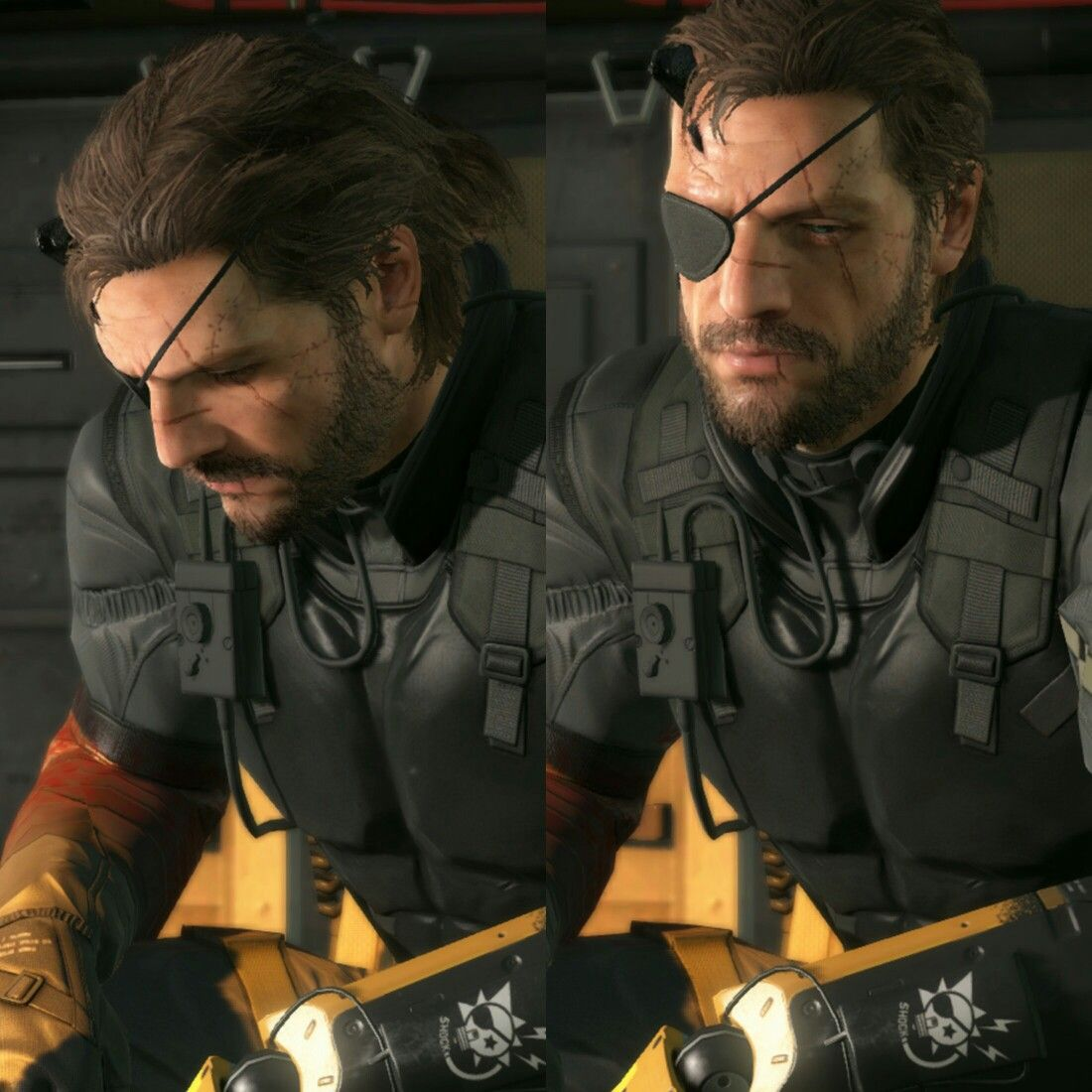 Pin En Metal Gear Solid As punished snake, the implication is that the character's sins have caught up to him. pin en metal gear solid