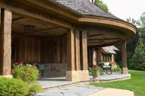 Here is the back patio of my mountain cabin... in my dream ... on Front Range Outdoor Living id=22449