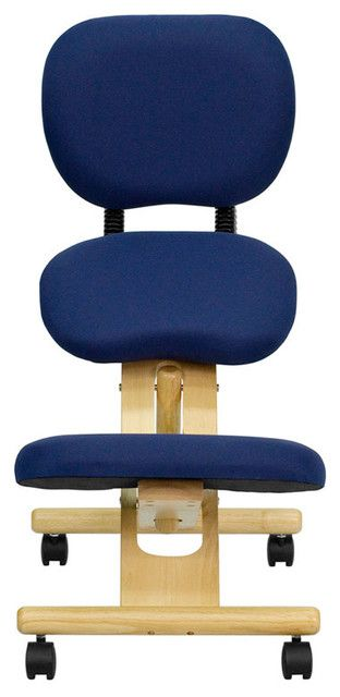 Wooden Ergonomic Kneeling Posture Office Chair Great Chair