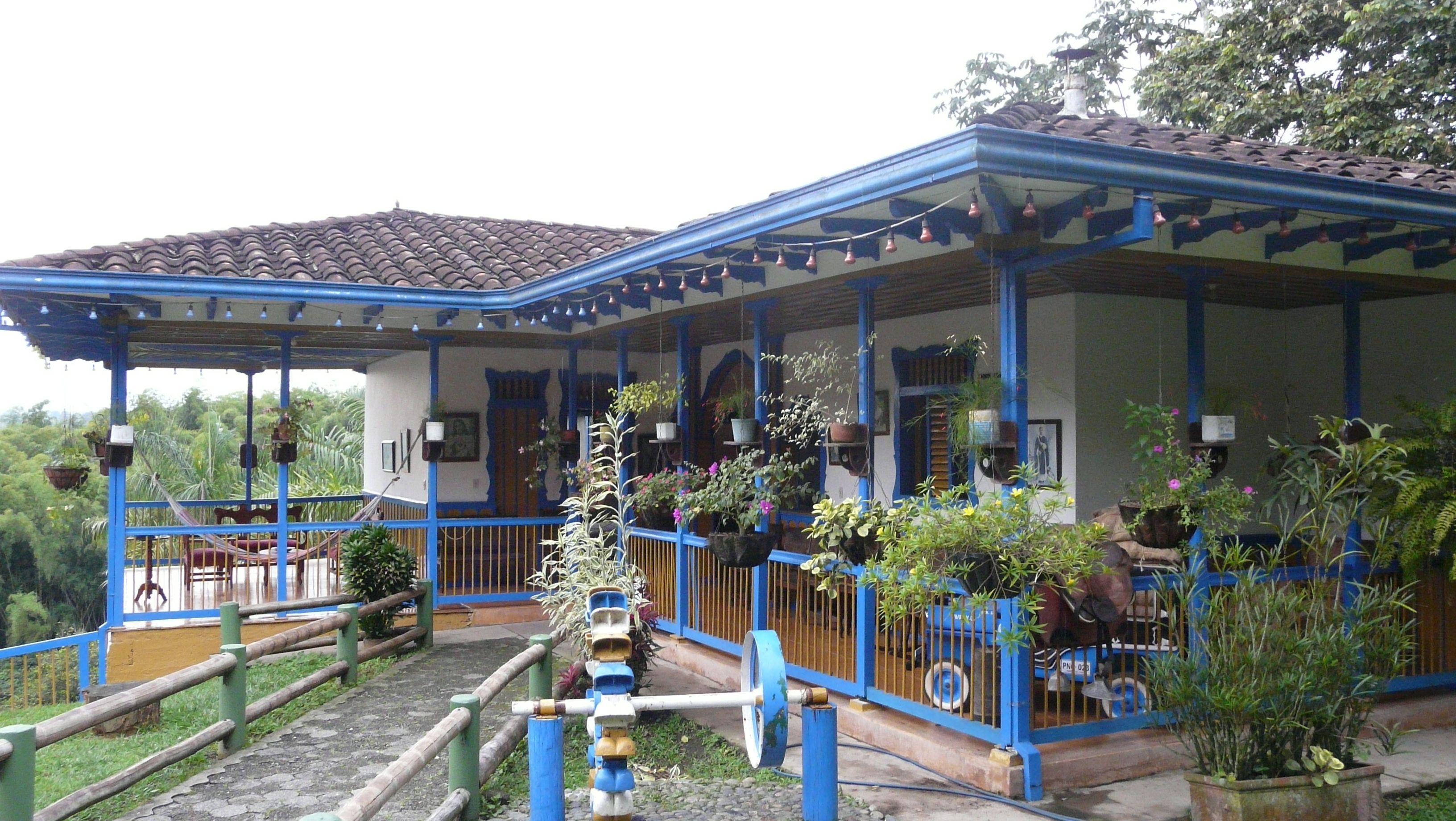 Finca zona cafetera decoracion pinterest zona for Arreglos de casas viejas