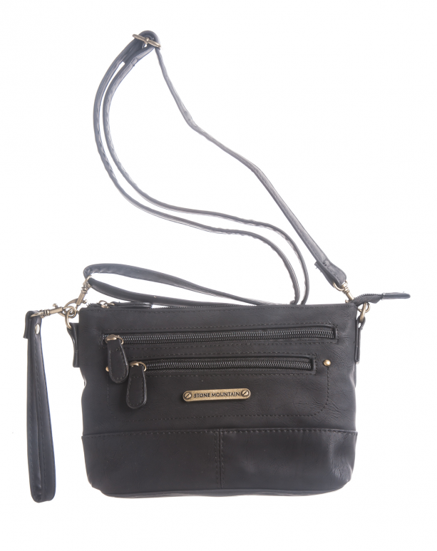 Stone Mountain Handbags Company Nubuck E W 3 In 1 Mini Double Zip