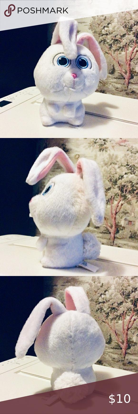 Secret Life Of Pets Snowball Bunny Rabbit Plush In 2020 Cute
