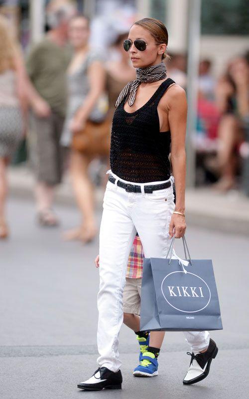 Nicole Richie Celebrity Street Style Streetstyle Nicole Richie