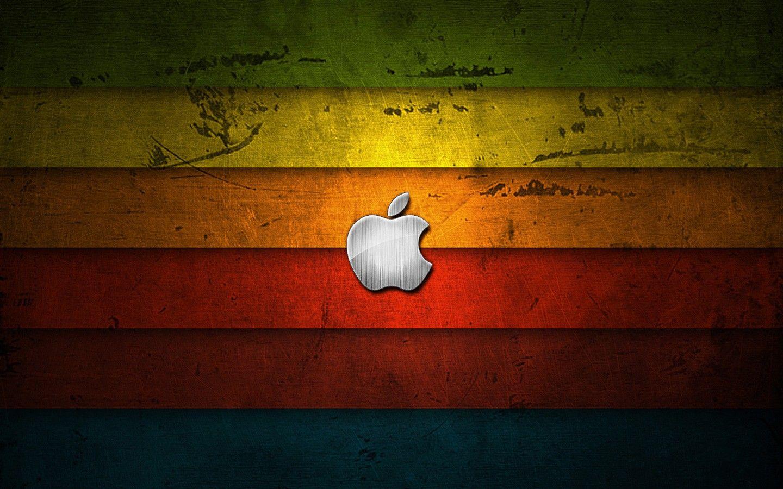 apple logo wallpapers retro   apple   pinterest   apple logo