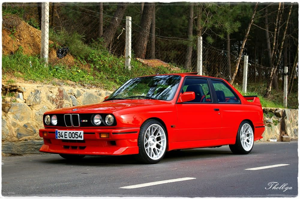 E30 M3 In Henna Red The Bmw I Fell In Love With As A Kid Cars