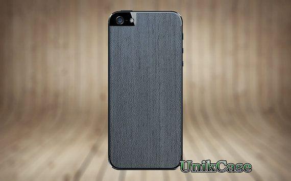 En bois véritable Apple iPhone 5 5 s peau blanchie par