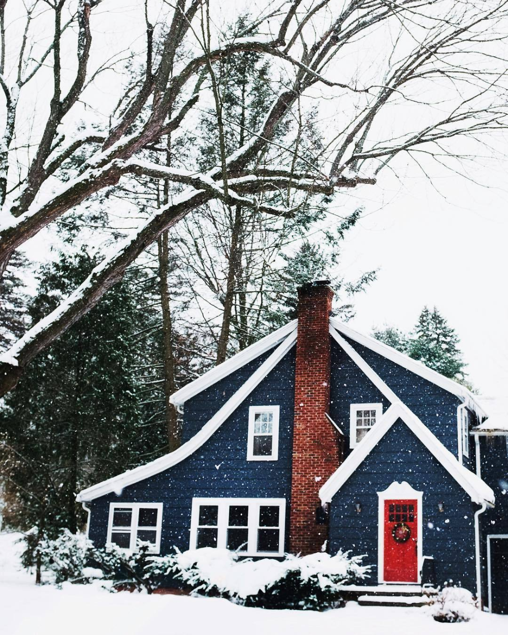 May The Bells Keep Ringing In 2020 Winter House Exterior House Paint Exterior House Exterior