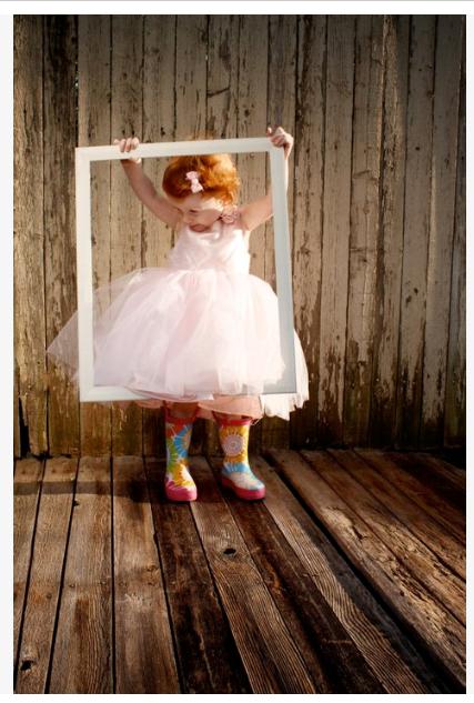 love this idea for photos