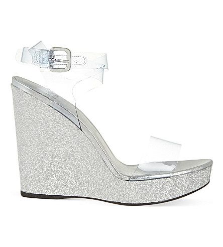 Stuart Weitzman Seeyou Glitter Wedges high quality buy online extremely cheap price fMTanD