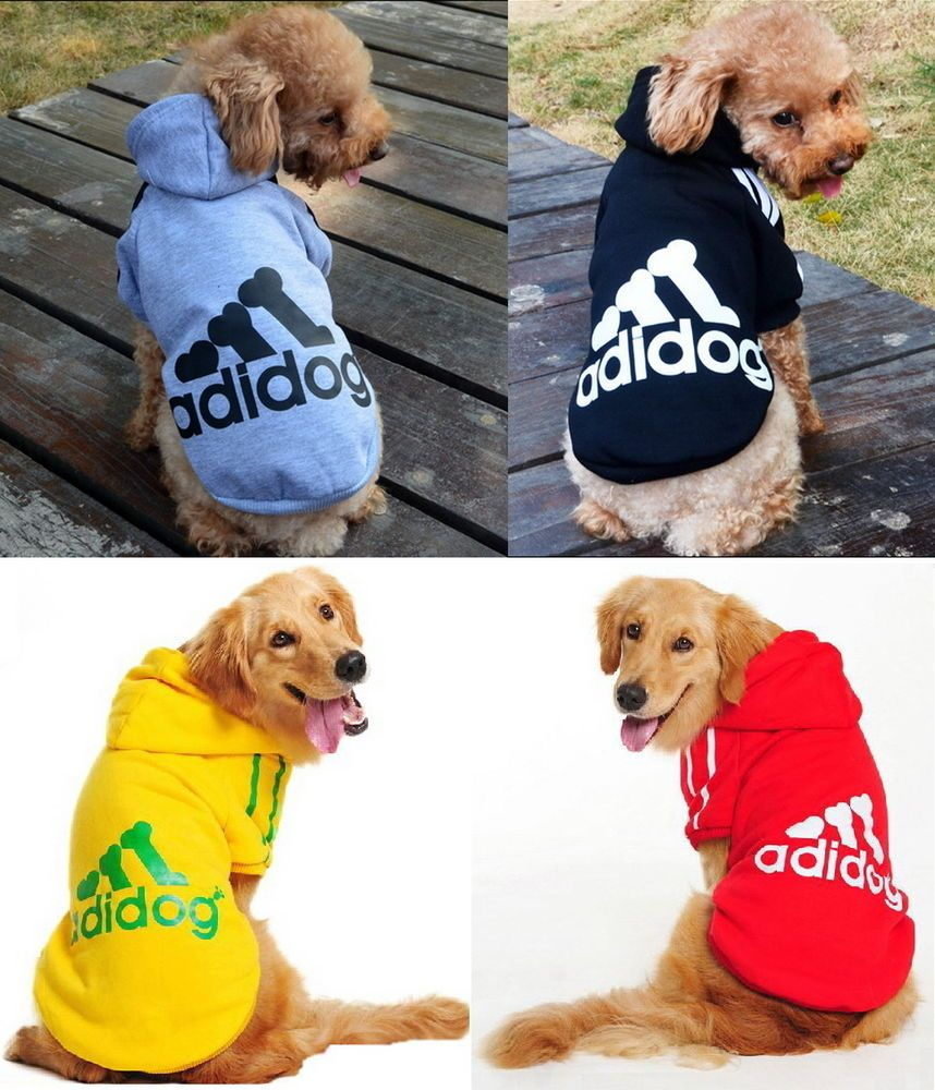 Puppy Small /& Large Pet Dog Winter Apparel Clothes Jacket Shirt Hoodie Jumpsuit