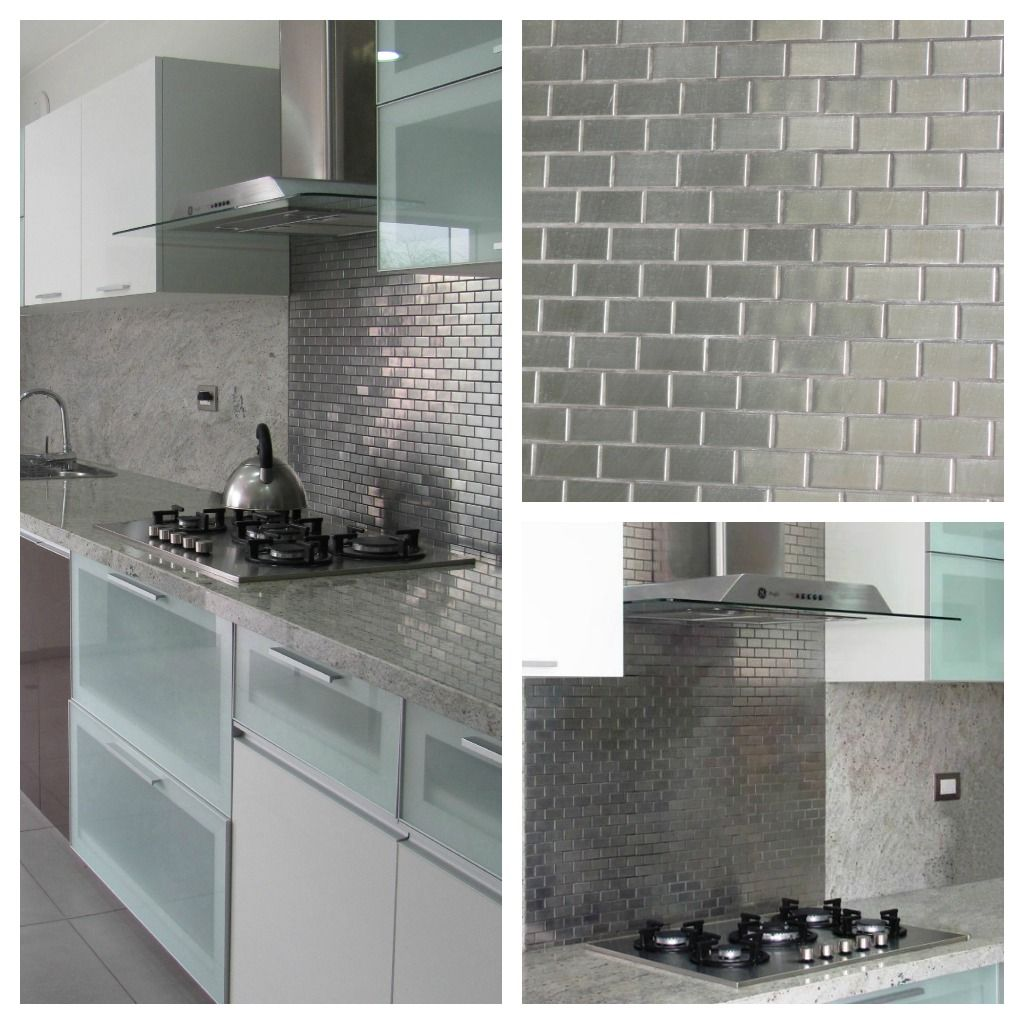 Dubrasen dise o interior revestimiento de paredes for Revestimiento cocina