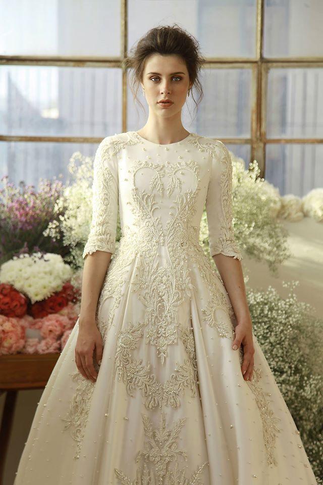 Chana Marelus 2017 #tznius | Modest (tznius) Wedding Gowns ...