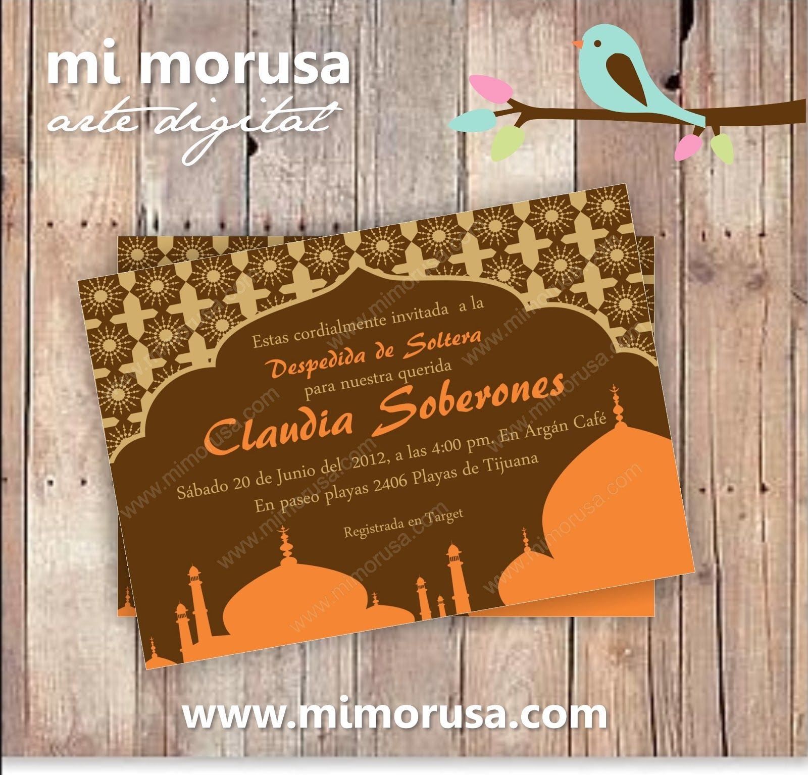 Arabian Nights starry invitation – Arabian Nights Party Invitations
