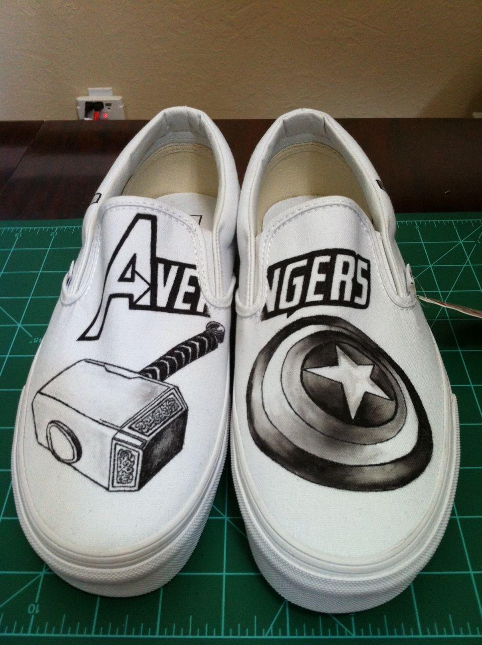 Avengers shoes..