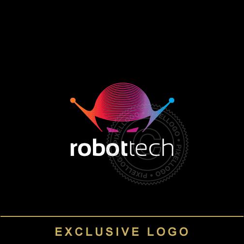 Robotic Technology Logo Technology Logo Robot Logo Logos