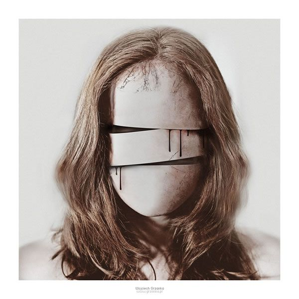 Identity Is Beauty For Sickymagazine Com Photography Lobke: Surreal Photo Manipulation By Voogee