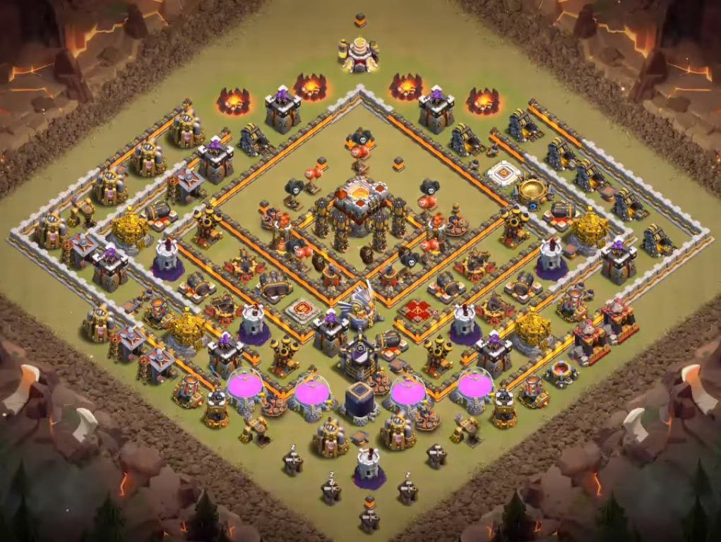 Base Coc Th 11 War Terkuat 5