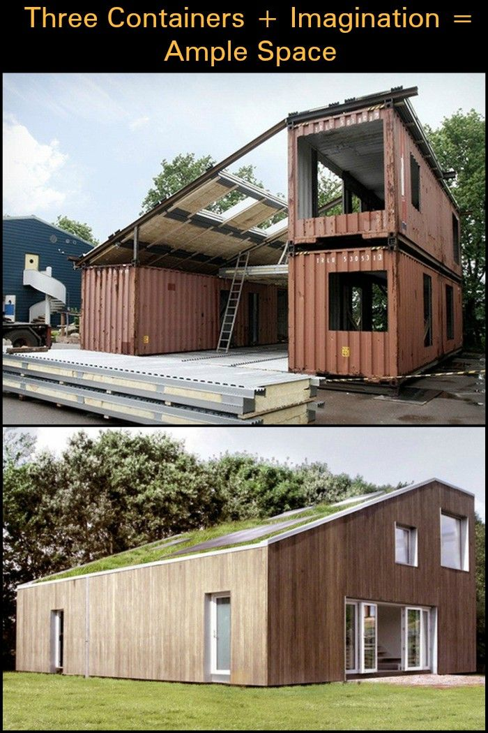 This is a container home Itu0027s full