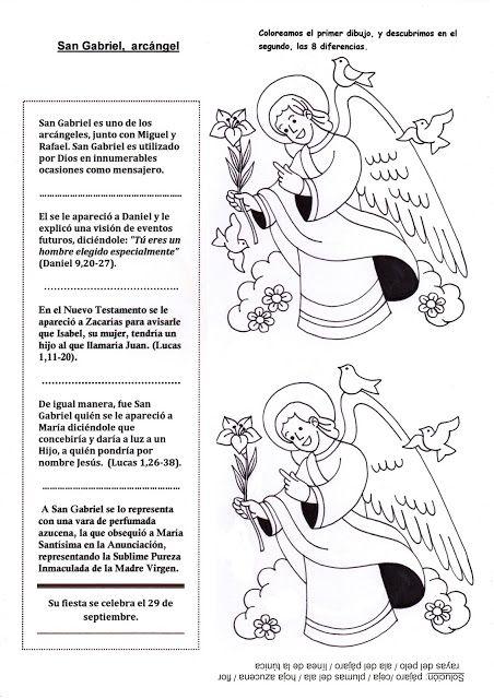 El Rincon De Las Melli San Gabriel Arcangel Historia Con Juego