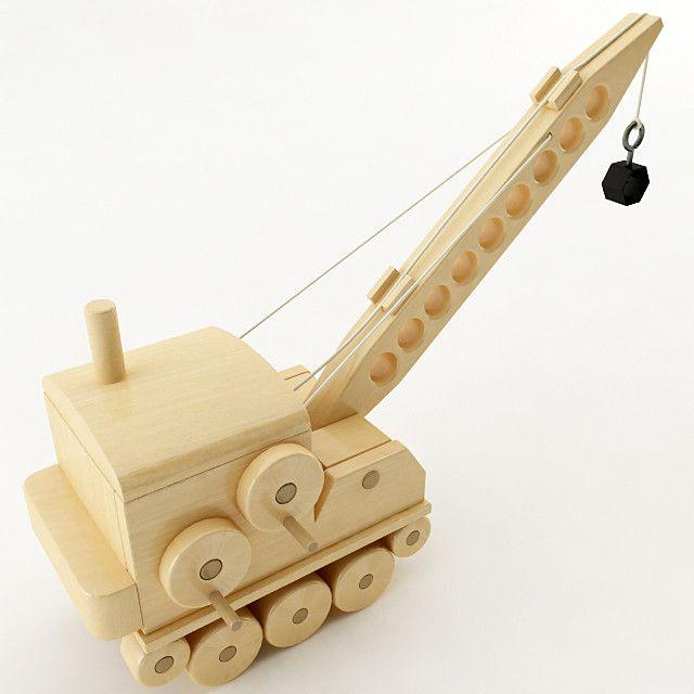 toy crane 3d model | Toy Car | Toy crane, Wood toys, Wooden toys
