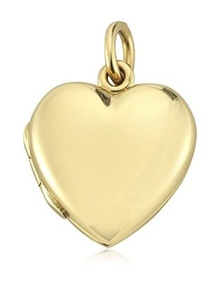 4204bb144 Tiffany & Co. 14K Yellow Gold Heart Locket Charm | Tiffany Jewelry ...