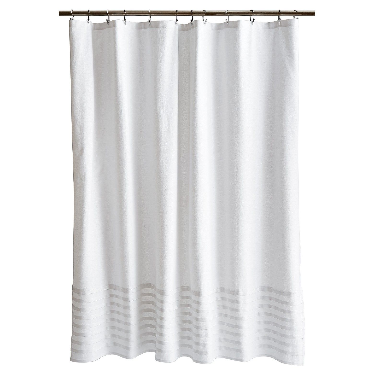 Update Your Bathroom Decor With The Fieldcrest Chelsea Pleat White