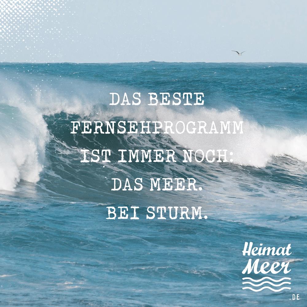 Das Meer Bei Sturm Fur Alle Die Auch Bei Sturm An Den Strand Gehen Strand Spruche Spruche Heimatmeer