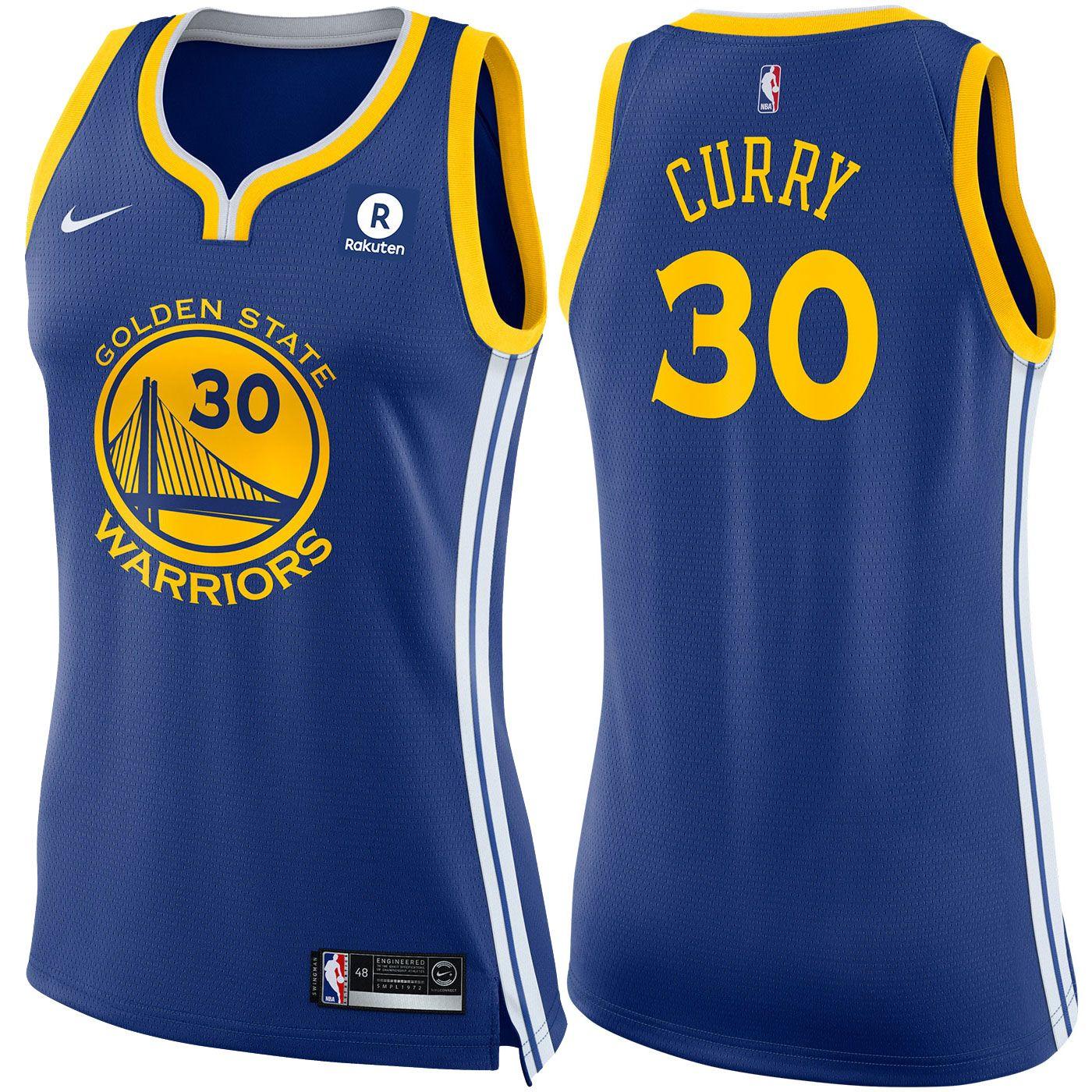 53fb54a0540 Golden State Warriors Nike Dri-FIT Women's Stephen Curry #30 Swingman Icon  Jersey - Royal