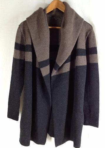 Vince Colorblock Blanket Sweater Coat Cardigan Size XS New $395 ...