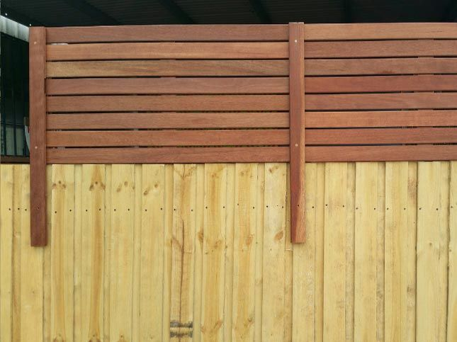 Paling Pool Fence Extensions From Bunnings Melbourne