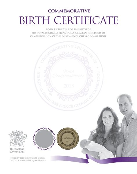 how to get bith certificates australia