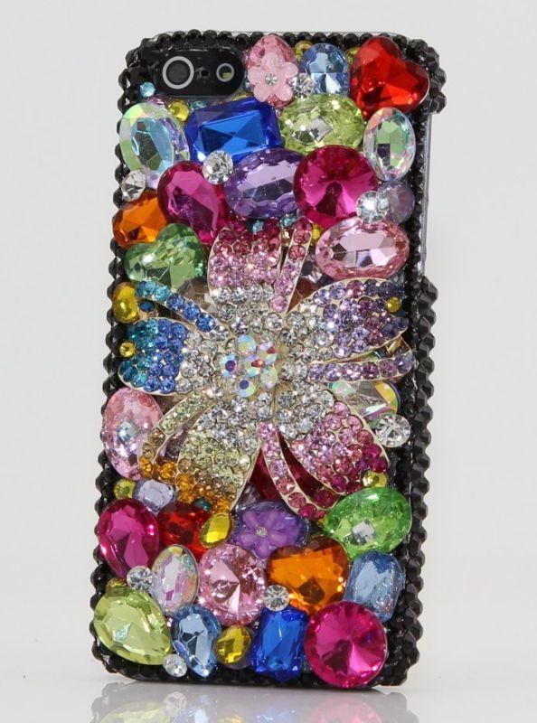 iphone 5 Case Luxury 3D Swarovski Crystal Diamond