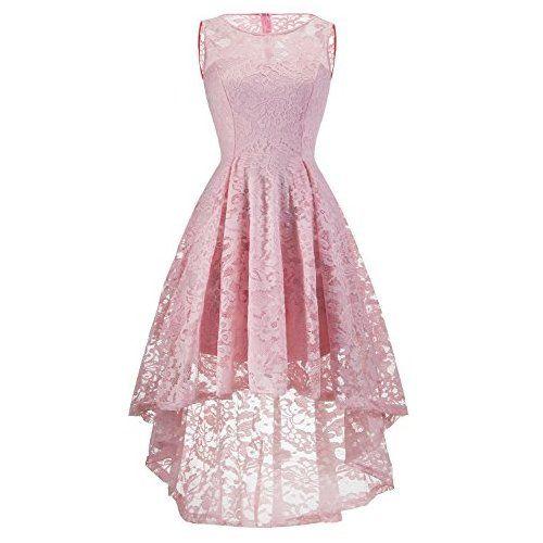 MuaDress MUA6006 Elegant Kleid aus Spitzen Damen Ärmellos ...