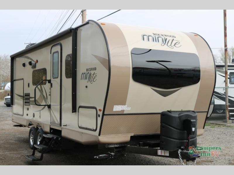 New 2019 Forest River Rv Rockwood Mini Lite 2507s Travel Trailer