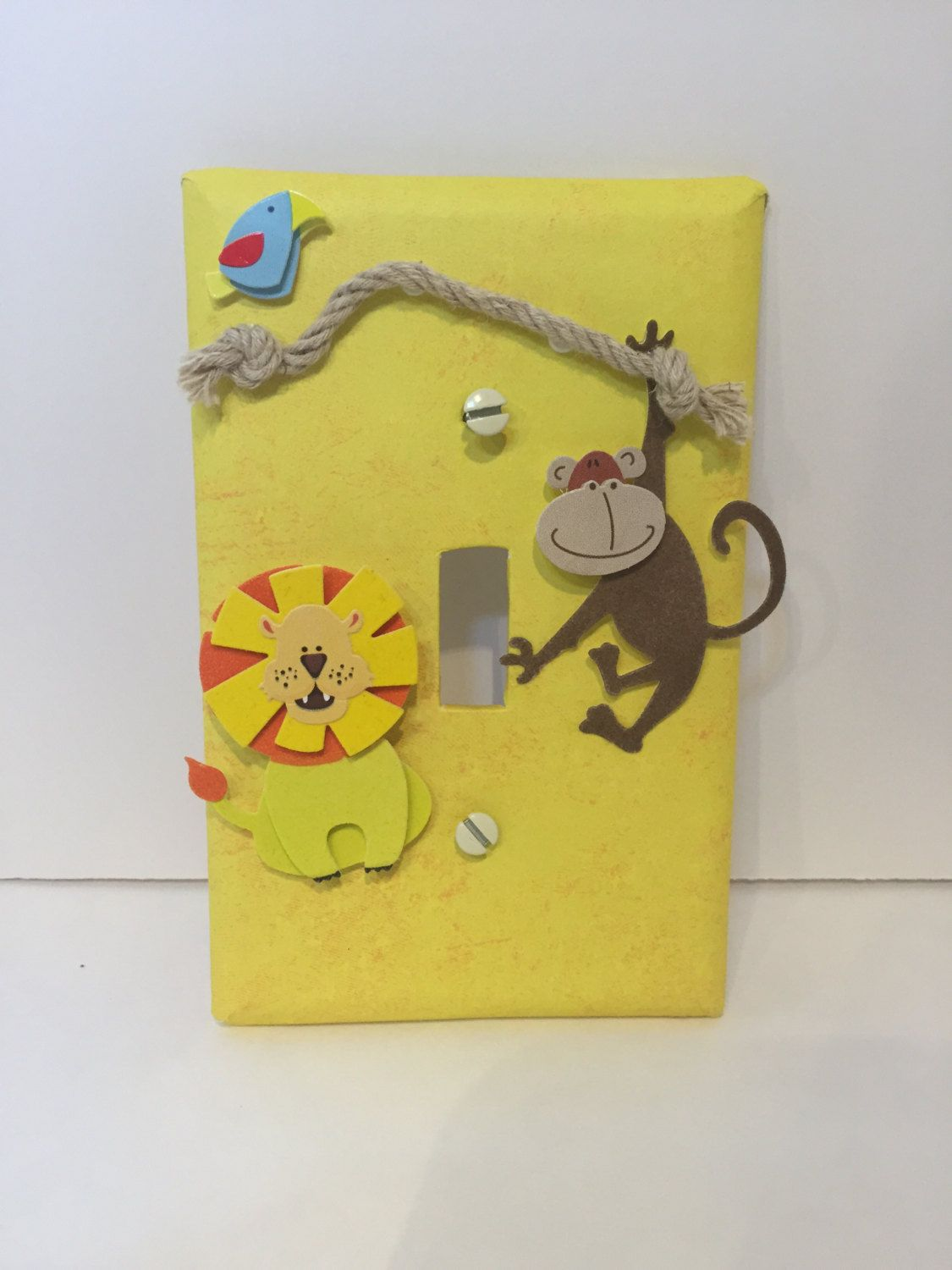 Safari Light Switch Cover Plate Nursery Decor Pinned By Pin4etsy