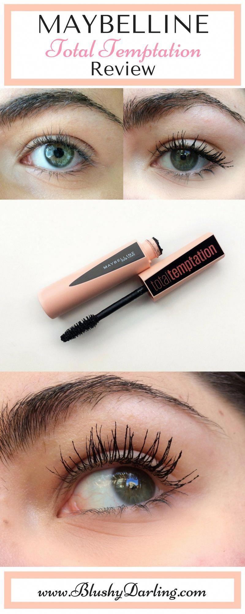 eb652d5433d Maybelline Total Temptation Review Drugstore Mascara #makeup #diymascara