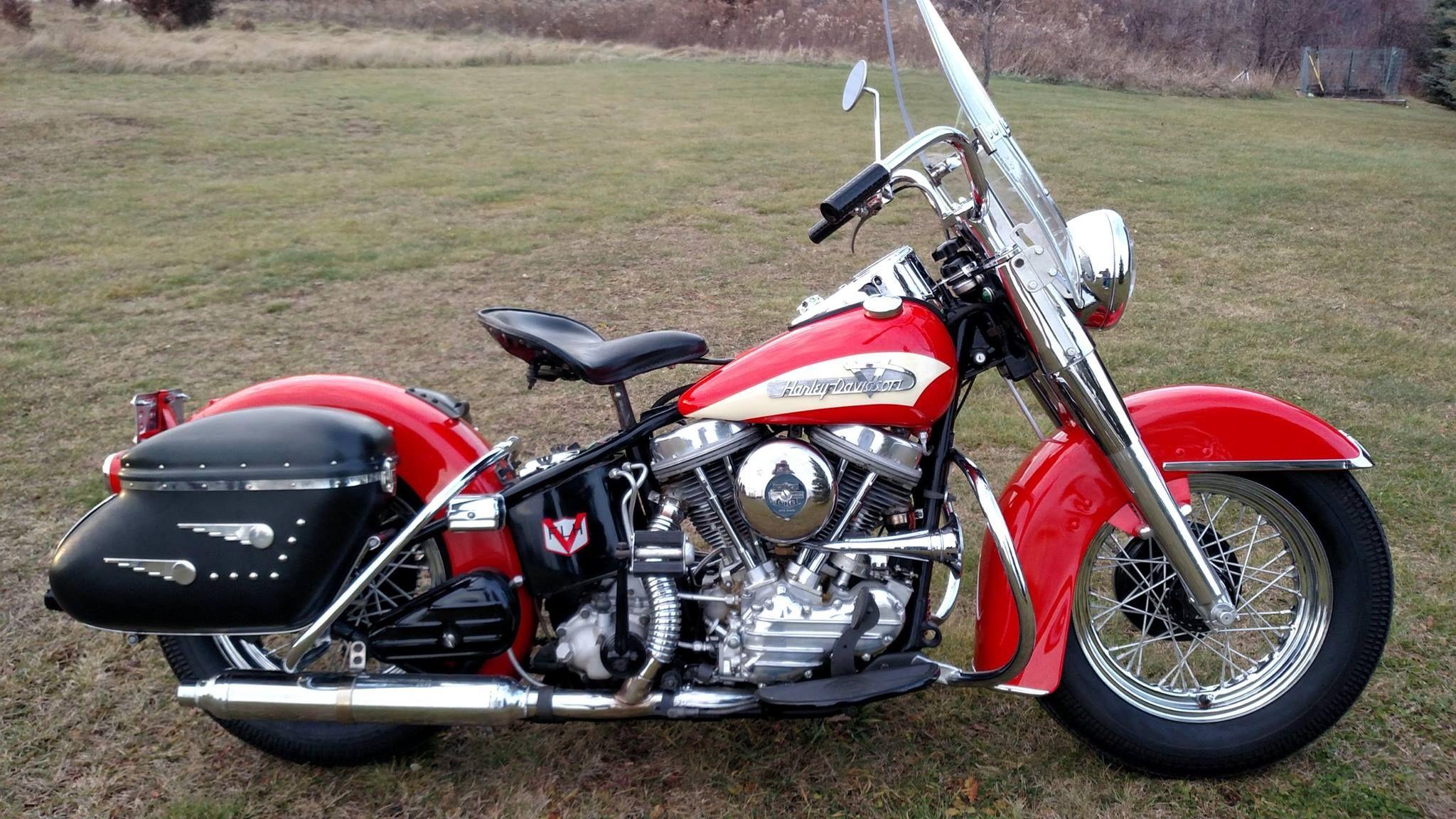 1956 Panhead Flh Harley Bikes Harley Davidson History Harley Davidson Motorcycles