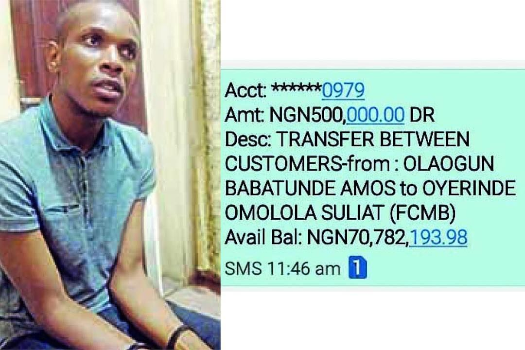 How Sacked Lagos Civil Servant Used Fake Bank Statements Alerts To
