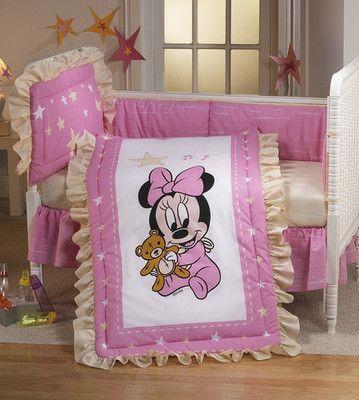 Baby Minnie Nursery Bedding