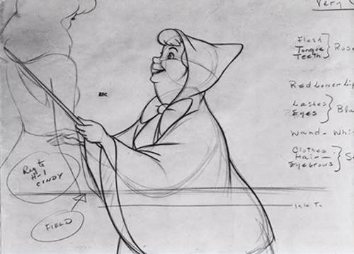 Cinderella Sketches And Concept Art