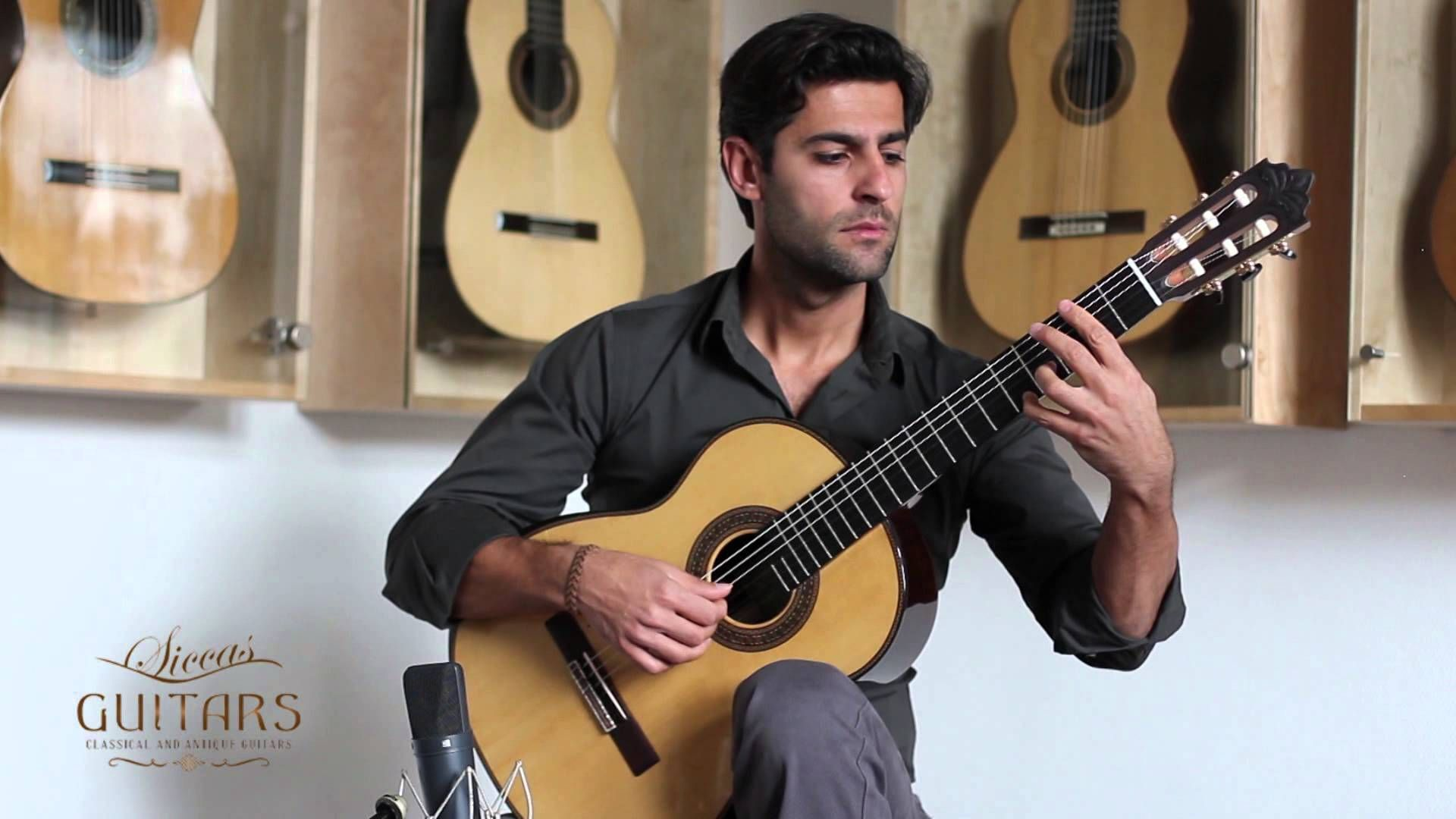 Murat Usanmaz playing on y guitar by Roy Fankhänel · Guitars