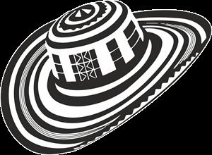 Sombrero Vueltiao Logo Vector Sombrero Vector Vector Logo
