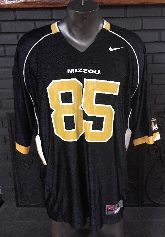 hot sale online cdfba c59ec Nike University of Missouri Tigers Football Jersey MIZZOU ...