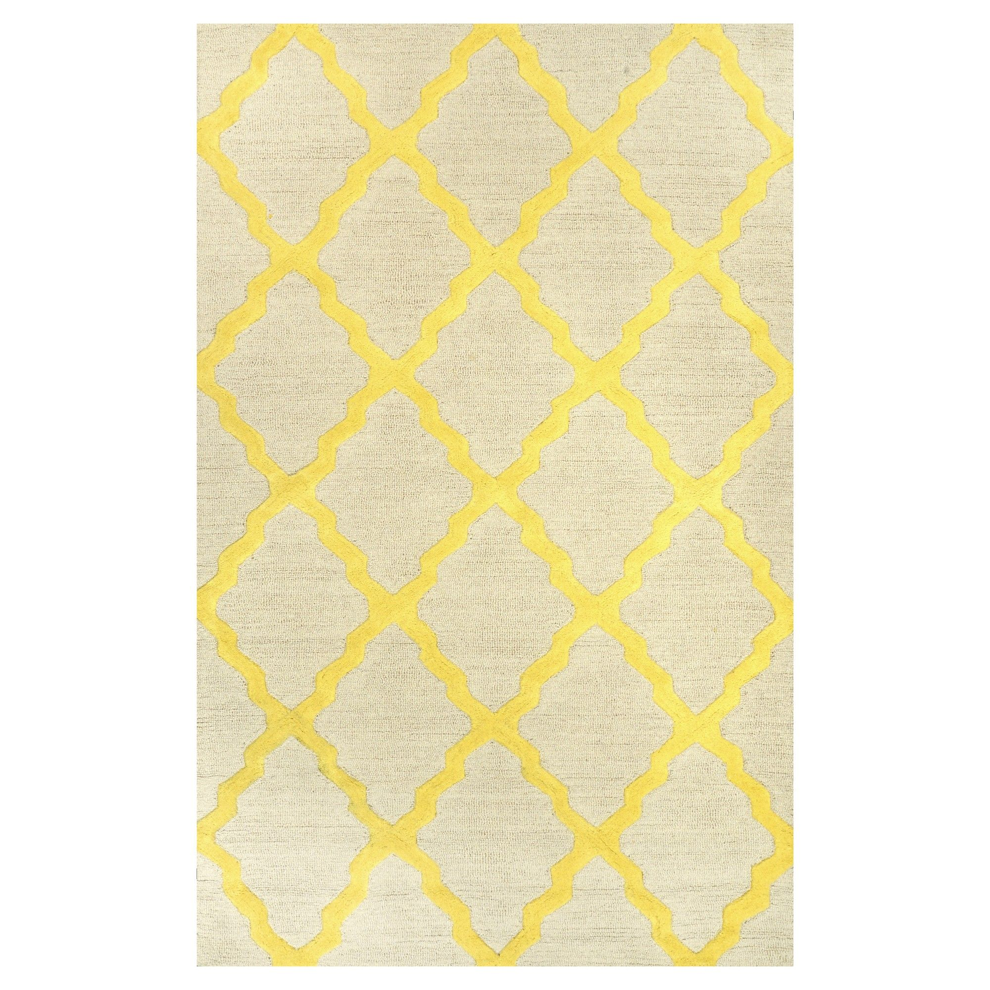 hand area products trellis nuloom wool marrakech hooked rug back